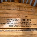 The new Nordeen Shelter, built in 2017.- Nordeen Shelter via Snowshoe Long Loop