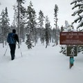 The Short Loop and the Long Loop provide options for all levels of snowshoers.- Nordeen Shelter via Snowshoe Long Loop