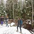 - Bells Canyon Lower Falls Snowshoe