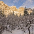 Snowshoeing Bells Canyon.- Bells Canyon Lower Falls Snowshoe