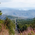 View along the trail.- Mount Mitchell via Black Mountain Campground
