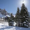 Lake Blanche Snowshoe.- Lake Blanche Snowshoe