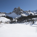 Lake Blanche with Sundial.- Lake Blanche Snowshoe