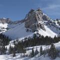 Sundial Peak (10,320 ft).- Lake Blanche Snowshoe