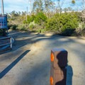 The entrance from Glen Ranch Road.- Serrano Creek Trail