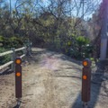 The exit and entrance at Trabuco Road.- Serrano Creek Trail