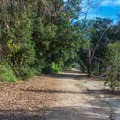 There are some secluded areas even though it is close to the city.- Serrano Creek Trail