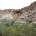 Montezuma Castle, from a different angle.- Montezuma Castle National Monument