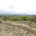 The view of the desert from Montezuma Well.- Montezuma Castle National Monument