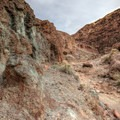 Mineral content colors much of the area, which is what drew miners here long ago.- Odessa Canyon / Doran Canyon