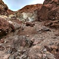 Colored landscape in the Calico Mountains.- Odessa Canyon / Doran Canyon