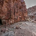Further up the canyon, abandoned mines are present in almost every direction.- Odessa Canyon / Doran Canyon