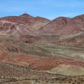 The colorful Calico Mountains.- Odessa Canyon / Doran Canyon