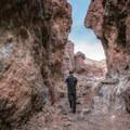 Descending through Doran Canyon.- Odessa Canyon / Doran Canyon