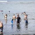 Snorkeling is extremely popular here.- Kahalu'u Beach