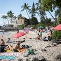 La'aloa Bay Beach Park is also known as Magic Sands and Disappearing Sands because storms frequently sweep the sand away.- La'aloa Bay Beach Park / Magic Sands Beach
