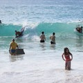 The break here is good for boogie boarding and body surfing.- La'aloa Bay Beach Park / Magic Sands Beach