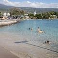 The swimming area south of the Kailua-Kona Pier.- Kona Beach, 'Ahu'ena Heiau + Kailua Pier