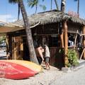 Gear rentals are available at Kona Beach.- Kona Beach, 'Ahu'ena Heiau + Kailua Pier