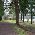 Harms Park along Dorena Reservoir.- Harms Park, Dorena Reservoir