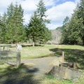 Bake Stewart Park trails are open to hikers and bikers.- Bake Stewart Park