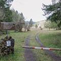 Trail through Bake Stewart Park.- Bake Stewart Park