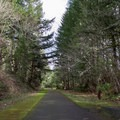 Row River Trail in the Willamette Valley.- Row River National Recreation Trail