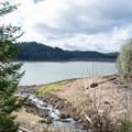 Dorena Lake.- Row River National Recreation Trail