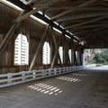 Dorena covered bridge, built in 1949.- Row River National Recreation Trail
