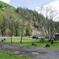 Culp Creek Trailhead. - Row River National Recreation Trail