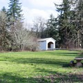 Mosby Creek covered bridge built in 1920.- Row River National Recreation Trail
