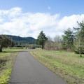 Row River Trail near Mosby Creek Trailhead.- Row River National Recreation Trail