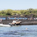 The boat ramp at Two Step.- Pae'a / Two Step at Hōnaunau Bay
