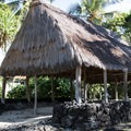 Several historic and reconstructed structures can be found throughout the park.- Pu'uhonua O Hōnaunau National Historical Park