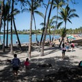 'Anaeho'omalu Bay Beach, otherwise known as A-Bay.- 'Anaeho'omalu Bay / A-Bay Beach