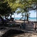 The beach is ADA accessible.- 'Anaeho'omalu Bay / A-Bay Beach