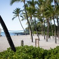 Volleyball at the north end of A-Bay Beach.- 'Anaeho'omalu Bay / A-Bay Beach