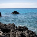 The rocks just offshore are great habitat for snorkeling.- Kealakekua Bay State Historical Park