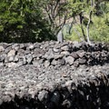 The large Hikiau Heiau sits just off of the parking lot. It is dedicated to Lono, the god of agriculture and fertility.- Kealakekua Bay State Historical Park