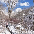 If you can catch the right day this trail is a perfect quick microspike trek.- Heughs Canyon Snowshoe