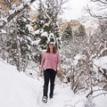 Heughs Canyon is a safe and beautiful place for a winter walk.- Heughs Canyon Snowshoe