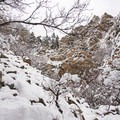 Heughs Canyon.- Heughs Canyon Snowshoe