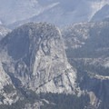 Liberty Cap and Nevada Fall in Yosemite National Park.- Panorama Trail