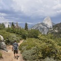 Hiking the Panorama Trail.- Panorama Trail via Glacier Point