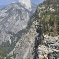 Half Dome and Illilouette Fall from Panorama Point.- Panorama Trail via Glacier Point