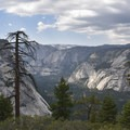 Royal Arches in Yosemite National Park.- Panorama Trail