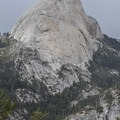 Half Dome in Yosemite National Park.- Panorama Trail via Glacier Point