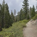 Panorama Trail.- Panorama Trail via Glacier Point
