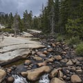 Merced River, late summer.- Panorama Trail