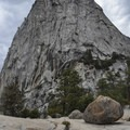 Liberty Cap in Yosemite National Park.- Panorama Trail